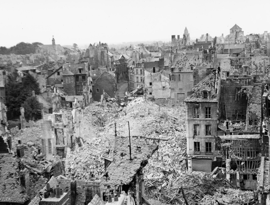 Allied bombing of Caen