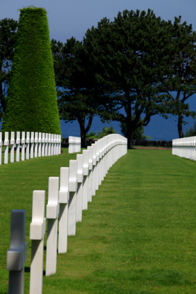 Normandy American War Cemetery and Memorial at Omaha Beach
