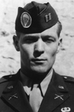 Captain (later major) Dick Winters of Band of Brothers fame.