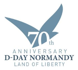 Normandy Invasion 70th D day logo